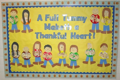 Thankful Bulletin Board
