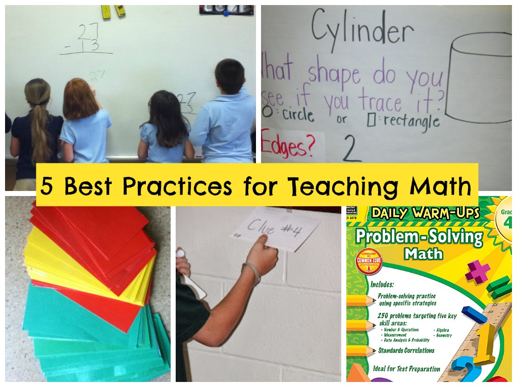 5 Best Practices For Teaching Math