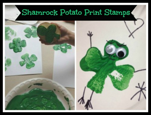 Shamroc kPotato Print Stamps-Teacher Created Resources