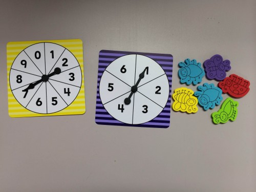 Number Spinners & Counters - Teacher Created Resources