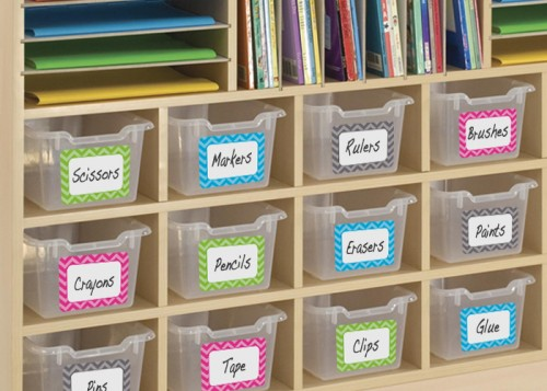 Chevron Name Tags - Teacher Created Resources