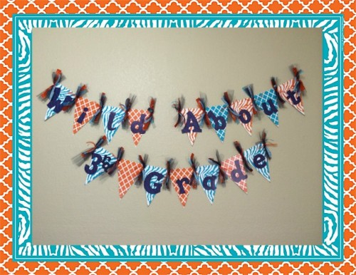 77122 Wild Moroccan Pennants Banner Craft-Teacher Created Resources