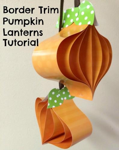 Border Trim Pumpkin Lanterns - Teacher Created Resources