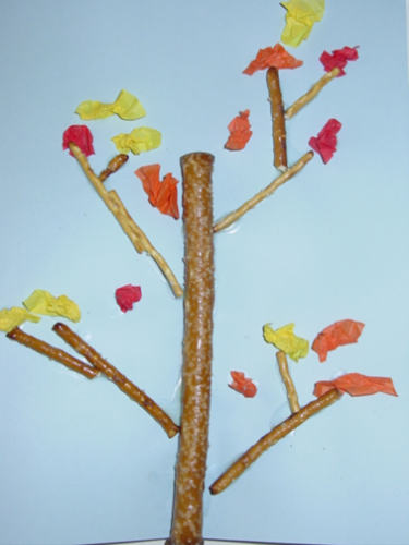 Fall Tree Craft TCR Blog