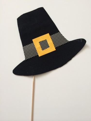 Pilgrim Hat Photo Booth Prop