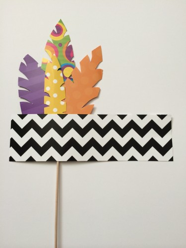 Feather Headband Photo Booth Prop