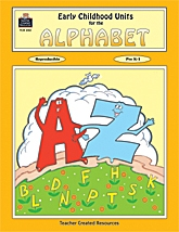 Early Childhood Units for Alphabet