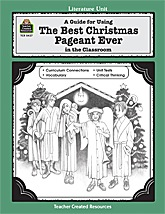 The Best Christmas Pageant Ever Worksheets Free - Worksheets