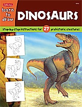 Learn to Draw: Dinosaurs