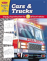 Learn to Draw: Cars & Trucks