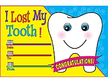 I Lost My Tooth Awards