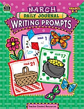 March Daily Journal Writing Prompts