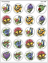 In My Garden Stickers from Susan Winget