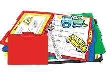 Red Stor-It File Folders