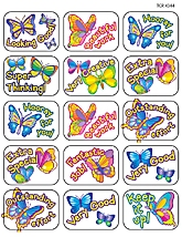 Butterfly Motivational Jumbo Stickers