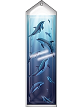 TCR7777 Dolphin Pod Bookmarks from Wyland