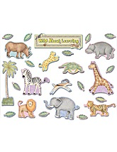 Wild About Learning Bulletin Board Set from Debbie Mumm