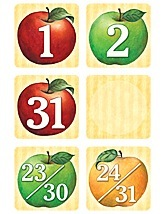 SW Apples Calendar Days Mini Pack