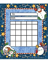 Snowmen Incentive Charts from Susan Winget