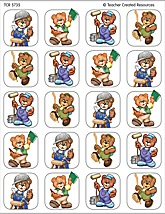 Busy Bears Stickers