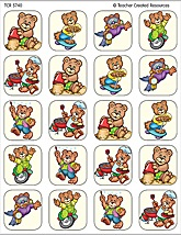 Summer Bears Stickers