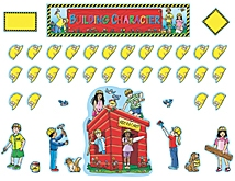 Building Christian Character Bulletin Board Display Set