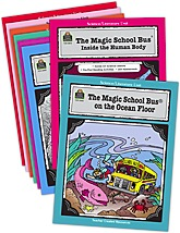Magic School Bus Literature Units Set (8 Books)