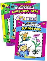 Full Color Literacy Activities Set (4 Books)