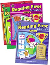 Reading First Activities Set (4 books)