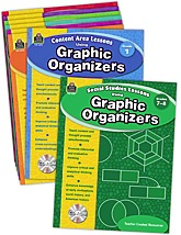 Lessons Using Graphic Organizers Set (8 bks)
