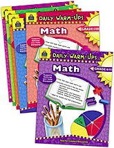 Daily Warm Ups: Math Set (6 books)