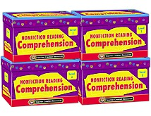 Nonfiction Reading Comprehension Card Set (4 boxes)