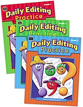 Daily Editing Practice Set (3 books)