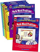 Interactive Learning: Math Word Problems Set (6 bks)