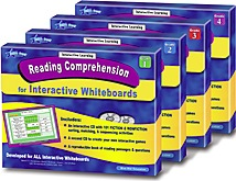 Reading Comprehension for Interactive Whiteboards Set