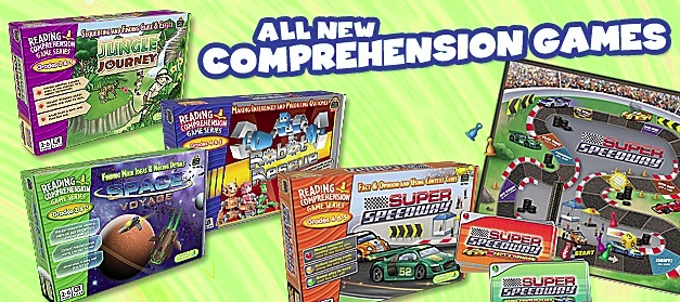 All New Reading Comprehension Games