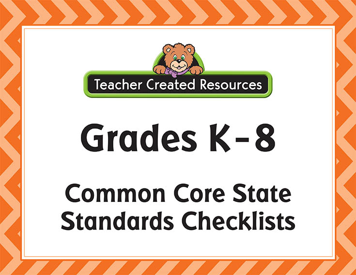 Free Downloadable Common Core Checklists