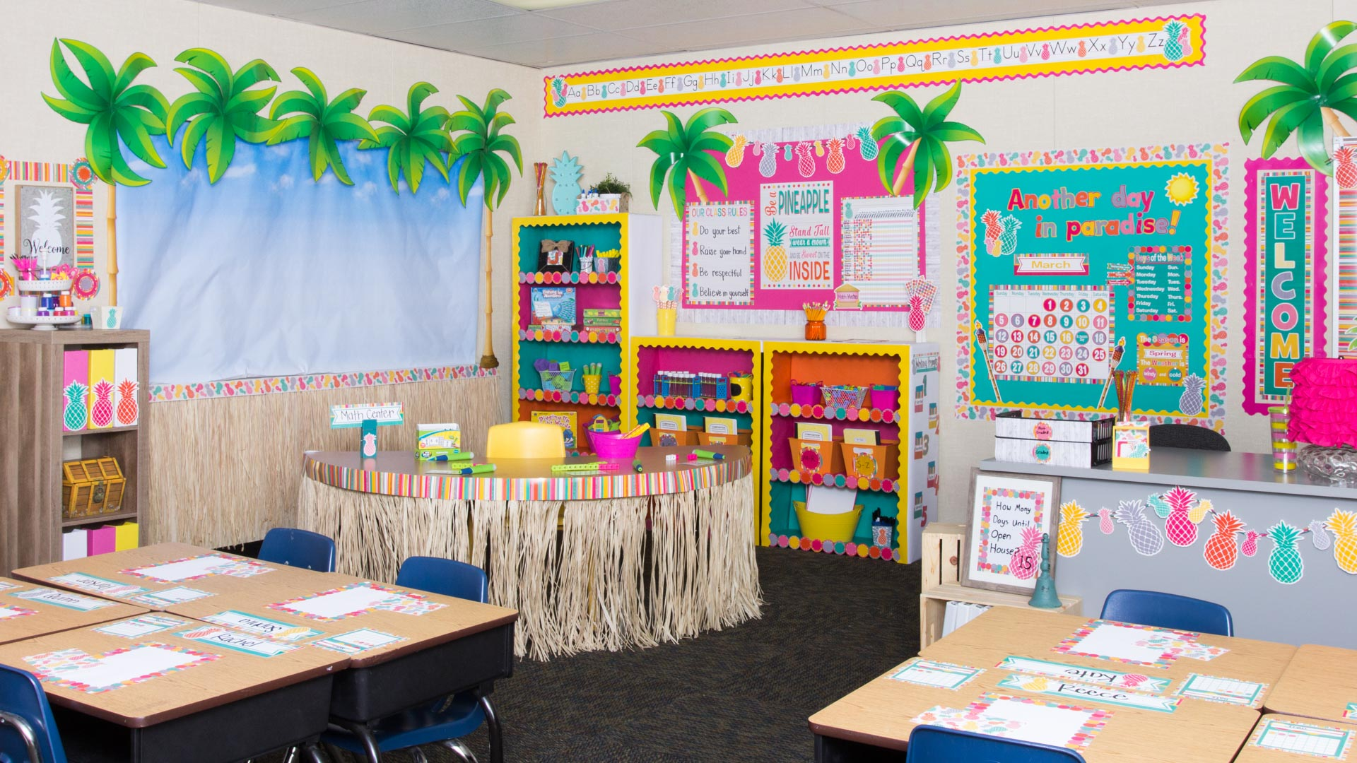 Classroom Decor Resources ~ Tropical punch « classroom decorations teacher created