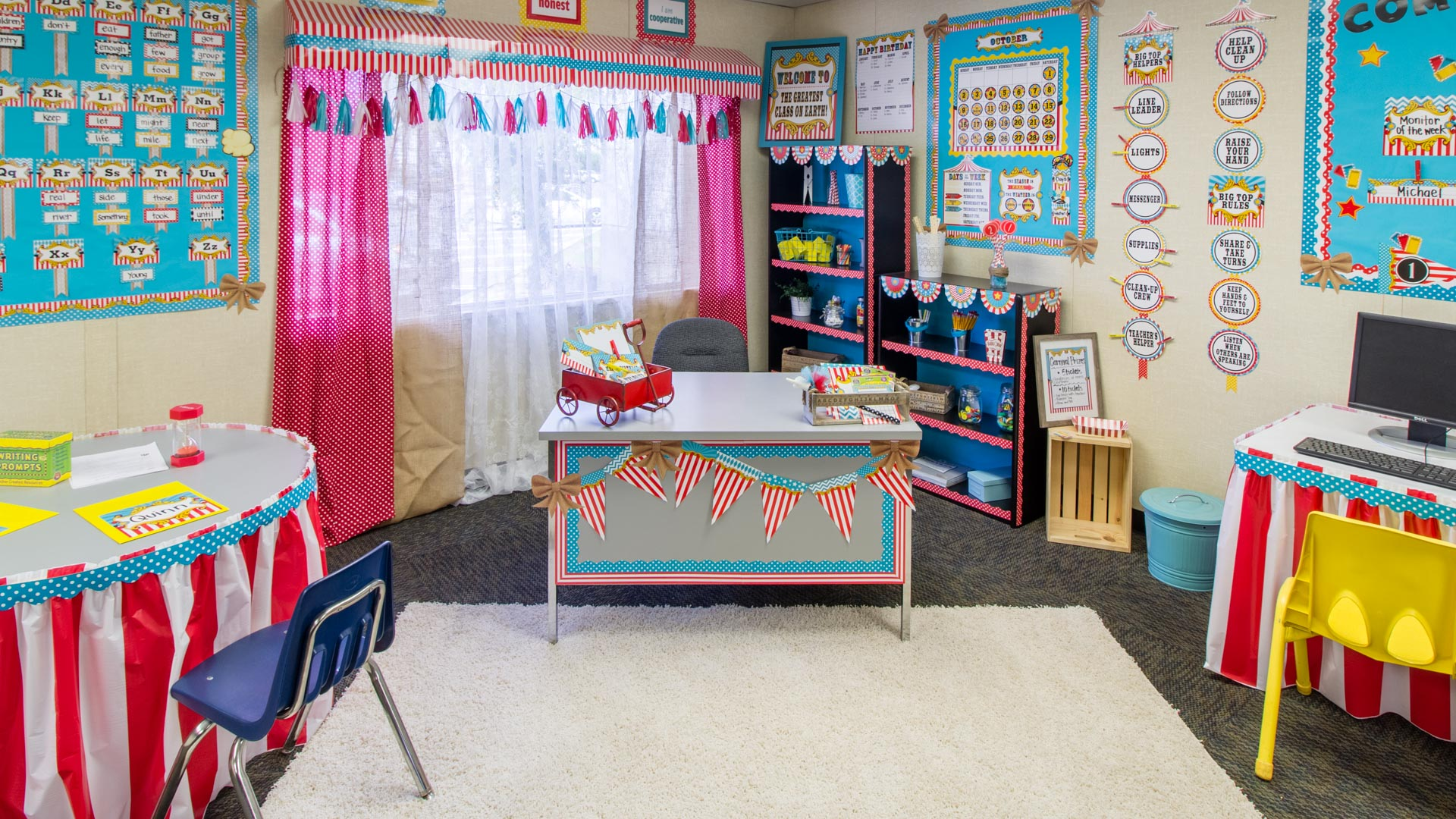Classroom Wall Decorations Ideas ~ Carnival « classroom decorations teacher created resources
