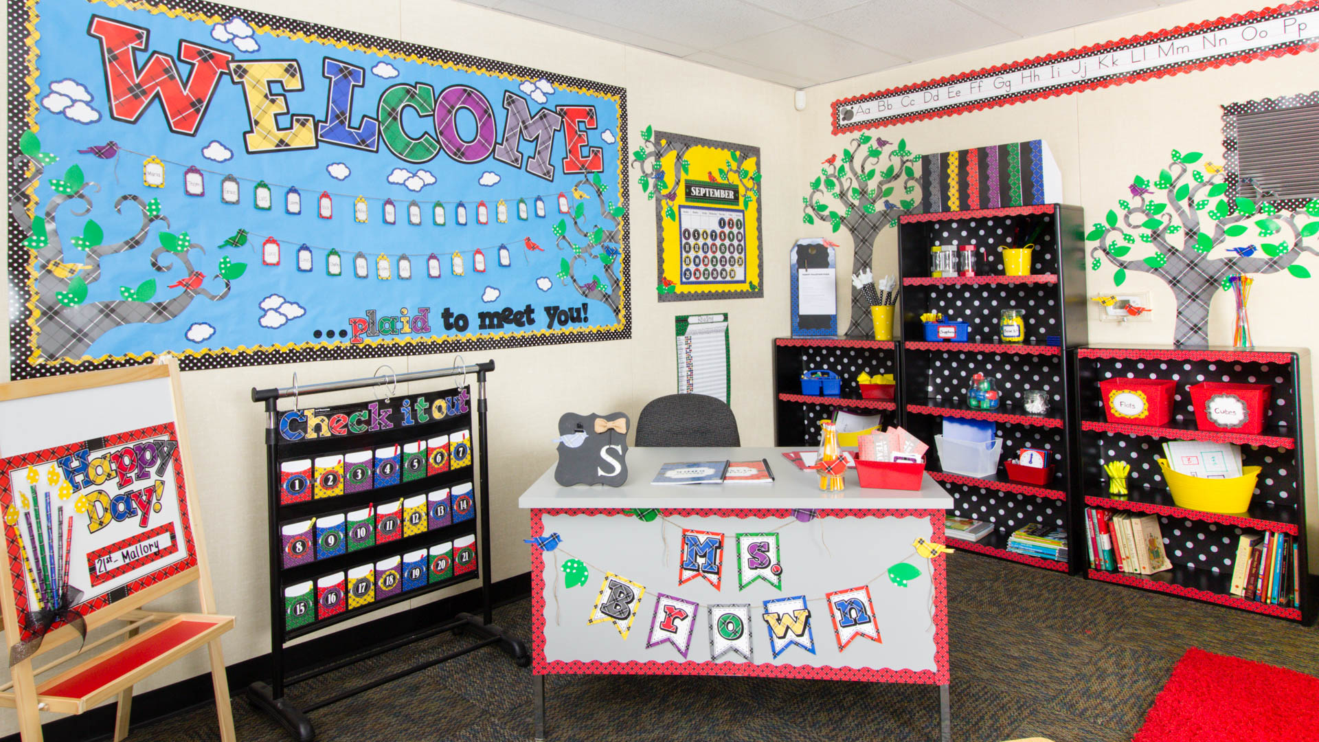 Classroom Decor Resources ~ Plaid « classroom decorations teacher created resources