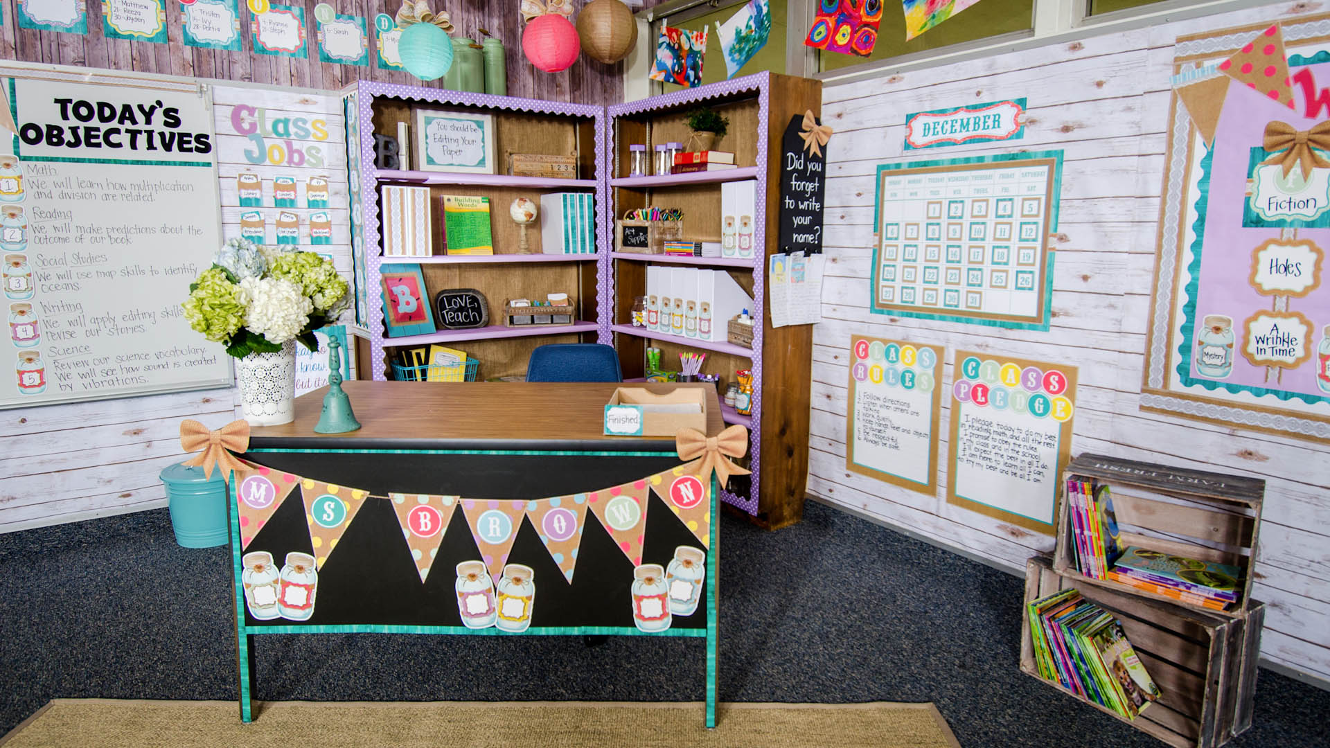 Shabby Chic Classroom Decorations Teacher Created Resources
