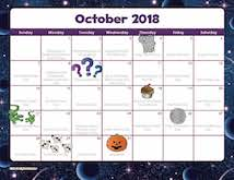 monthly calendars free teacher created resources