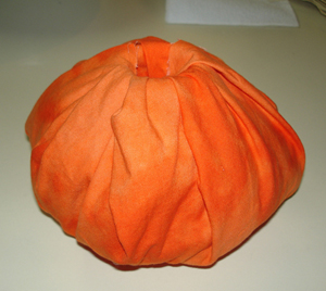 Wrapped Pumpkin Craft