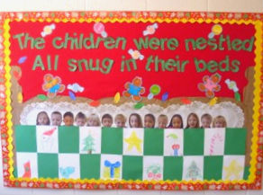 the night before christmas 1 - Christmas Bulletin Boards For Preschool