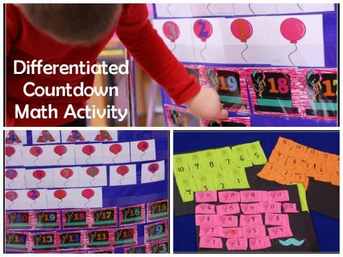 Diff Countdown Math