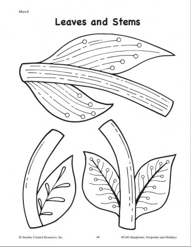 5140 Spring Flower Template-Teacher Created Resources