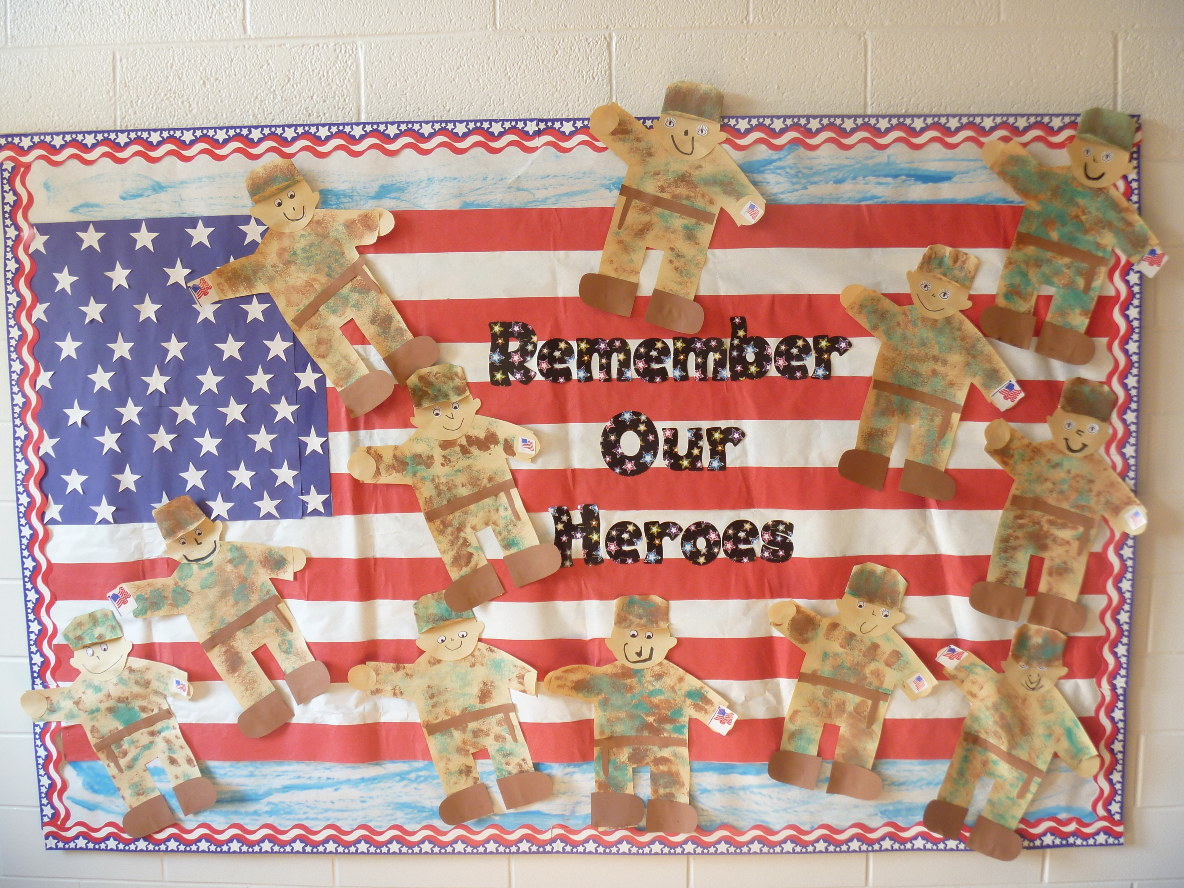 Bulletin Board Memorial Day Teacher Created Tips