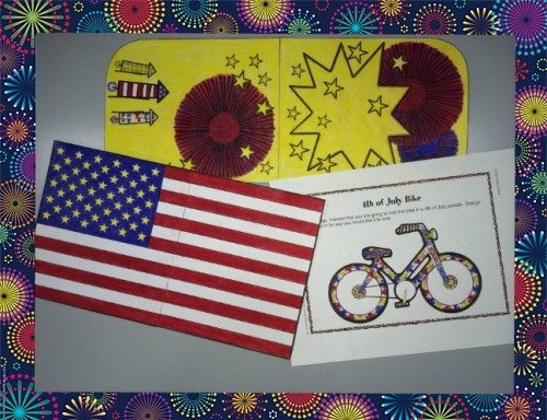 4th of July Printable Decorations from Big & Easy Patterns & Celebrate the Holidays