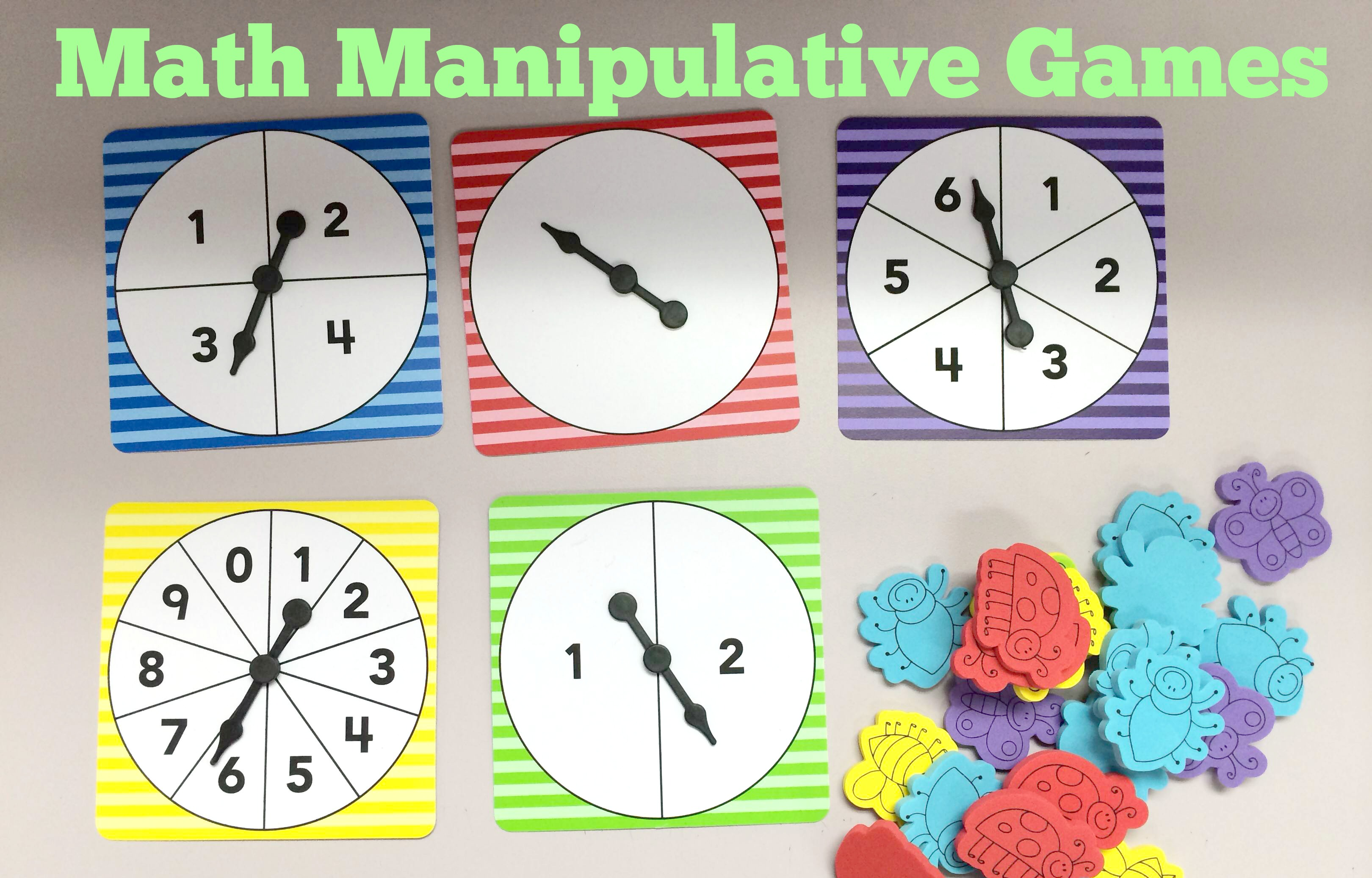 Math Manipulative Games – Teacher Created Tips