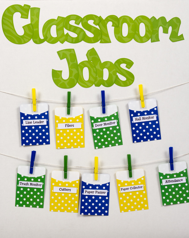 Classroom Helpers Ideas For Preschoolers ~ Terrific ways to use library pockets teacher created tips